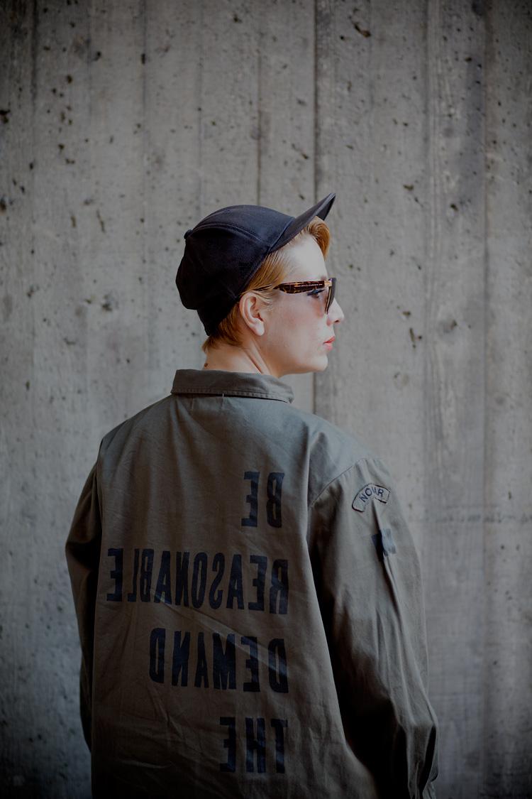 Jenny Wilson fotograferad av Jessica Lund i Stockholm, Vasastan