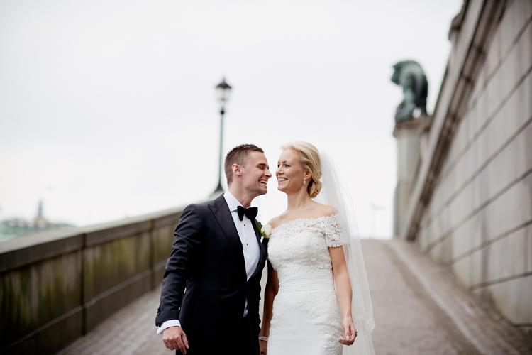 Klassiskt bröllop Stockholm