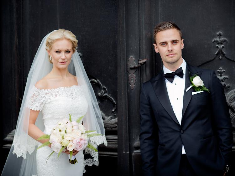 Klassiskt bröllop Stockholm Jessica Lund