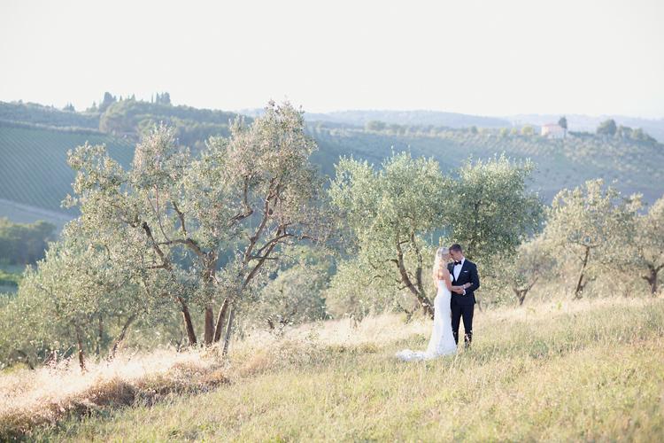 Bröllopsfotografering i Toscana