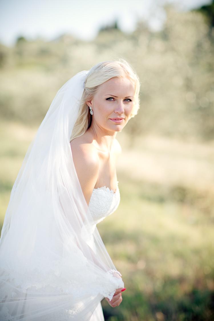 Brud i Toscana, fotad av Jessica Lund
