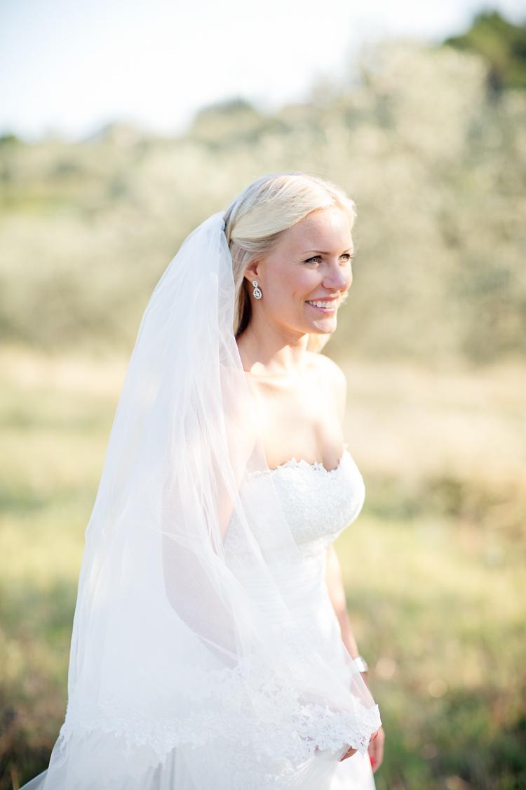 Brud fotograferat av Jessica Lund