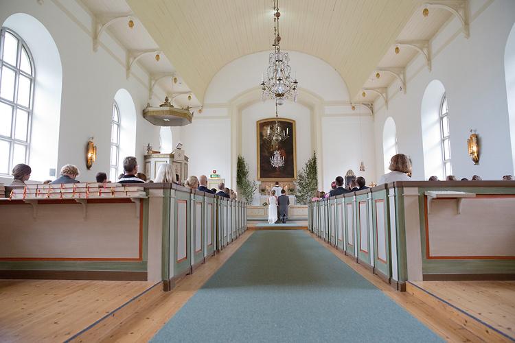 Bröllop i Stockholms skärgård och Utö Kyrka