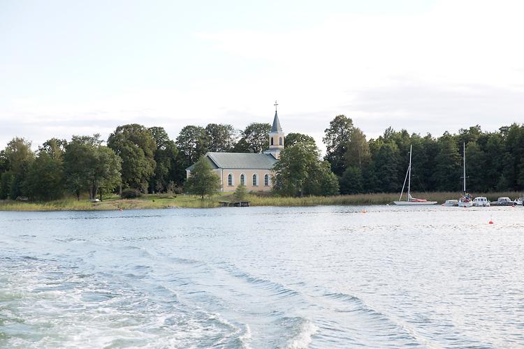 Utö kyrka i Stockholms skärgrd
