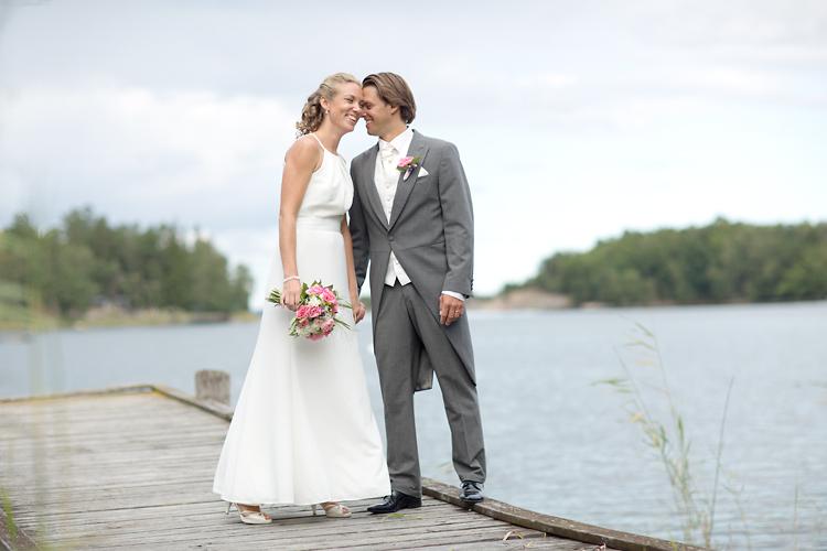 Bröllopsfotografering Utö