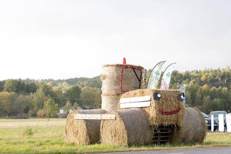 skördefest traktor