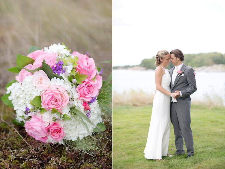 Bröllop på Utö i Stockholms skärgård