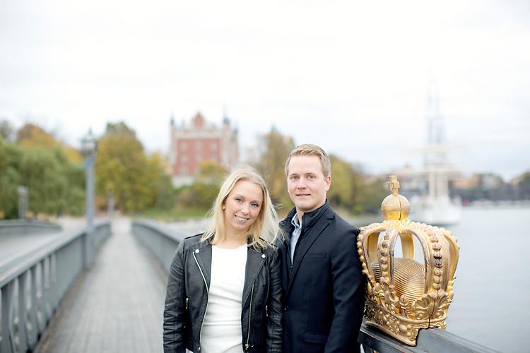 Skeppsholmsbron parfotografering