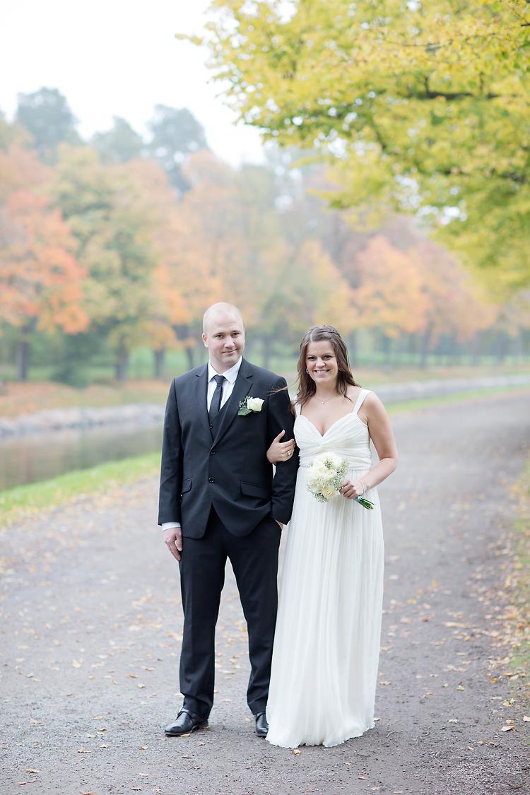 Bröllopsfotografering i Stockholm och Djurgårdsbrunn