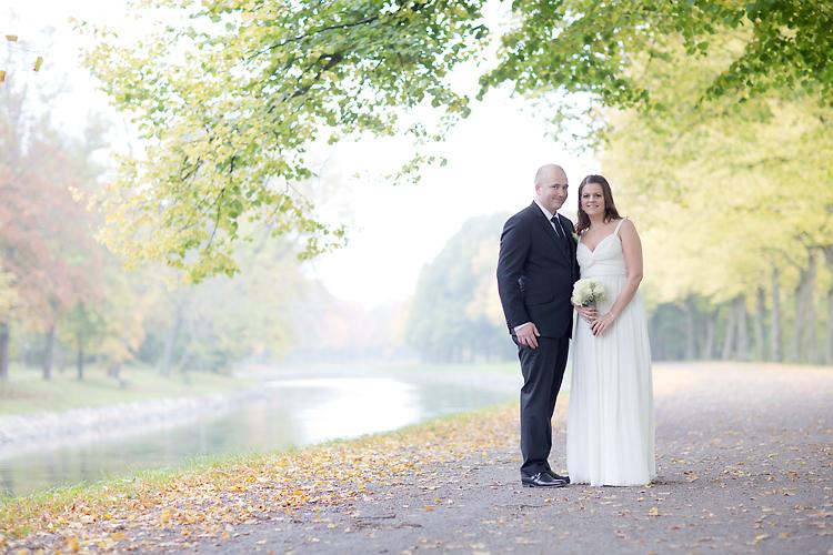 brudpar från Norge i Stockholm och Djurgården