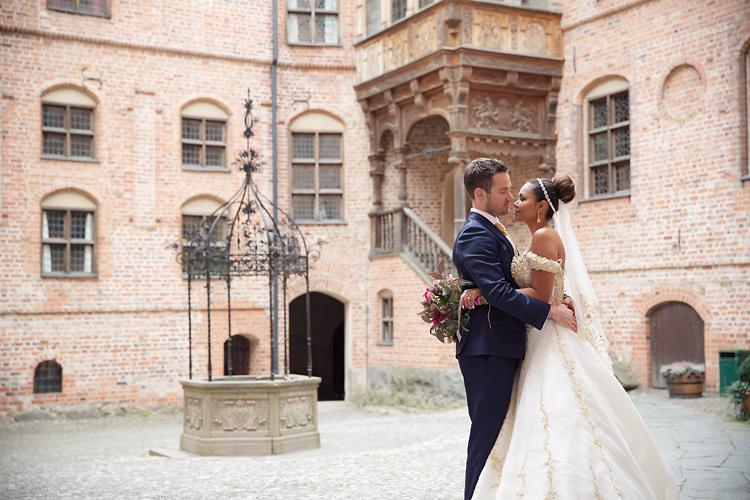 Bröllopsfotografering Gripsholmsslott, Mariefred