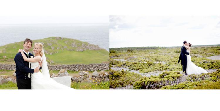 bryllupsfotograf Färöarna och Fårö