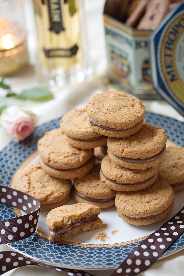 cookies av choklad