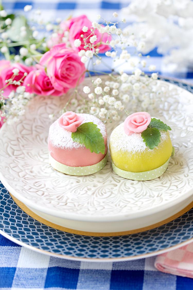 Minitårtor med marsipan