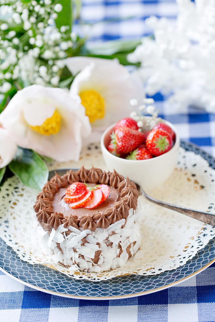 Minitårtor av choklad