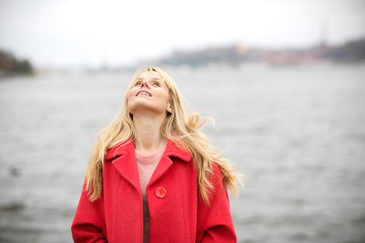 Helena af Sandeberg fotograferad på Kungsholmen