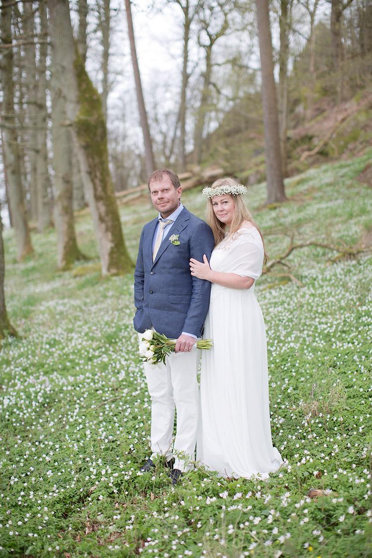 Bröllop i Göteborg vitsippor