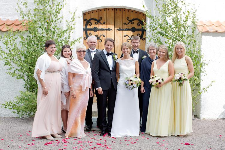 gäster gruppbild