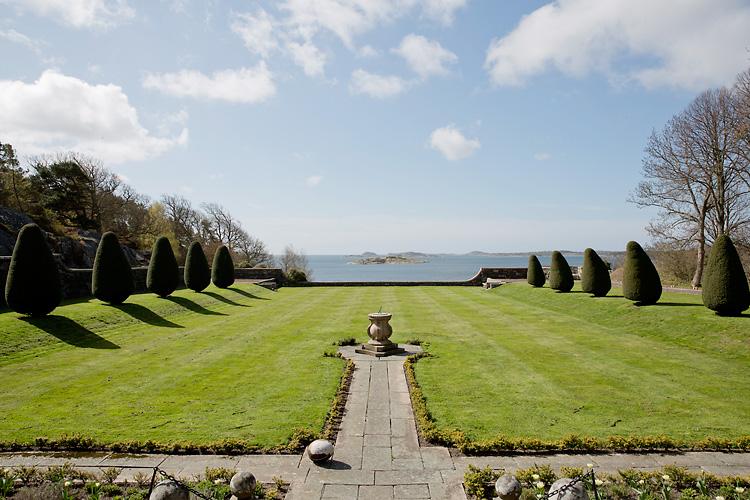 utsikt havet Tjolöholms slott