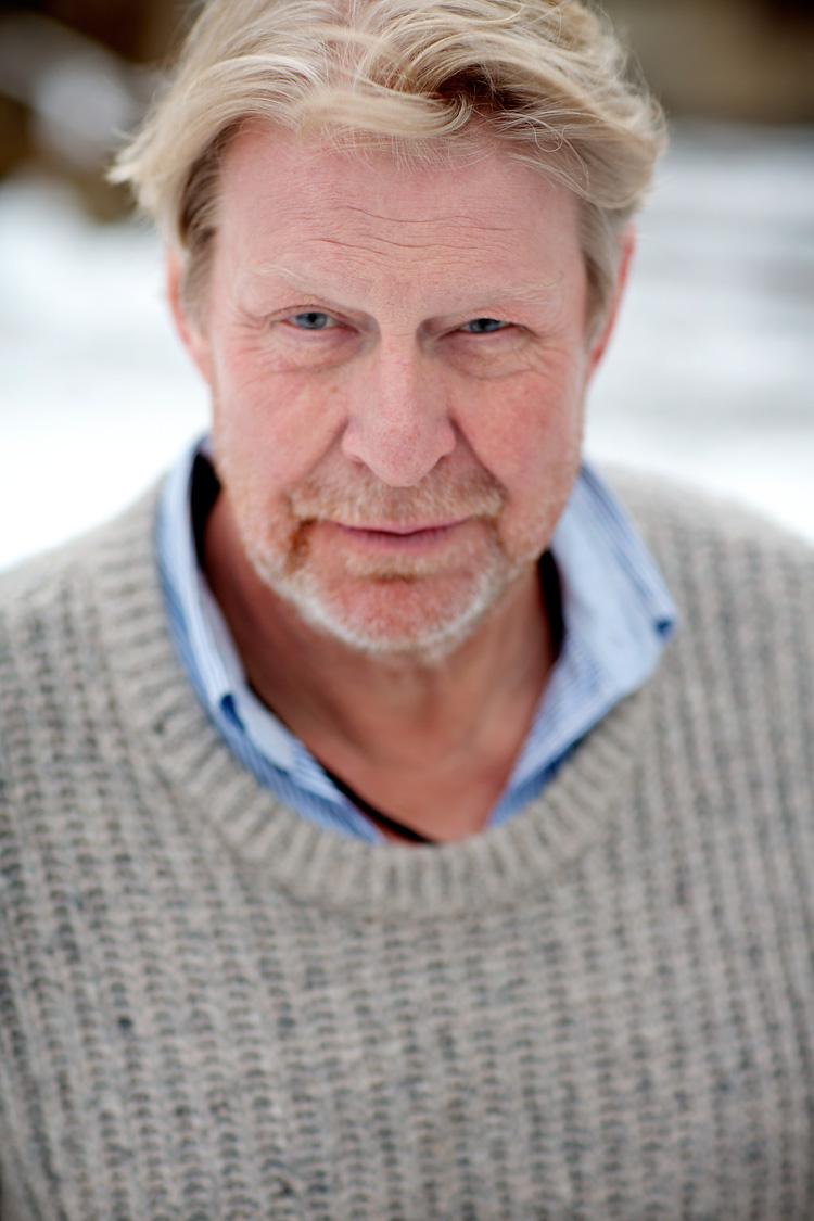 Rolf Lassgård i fotostudio Jessica Lund Stockholm