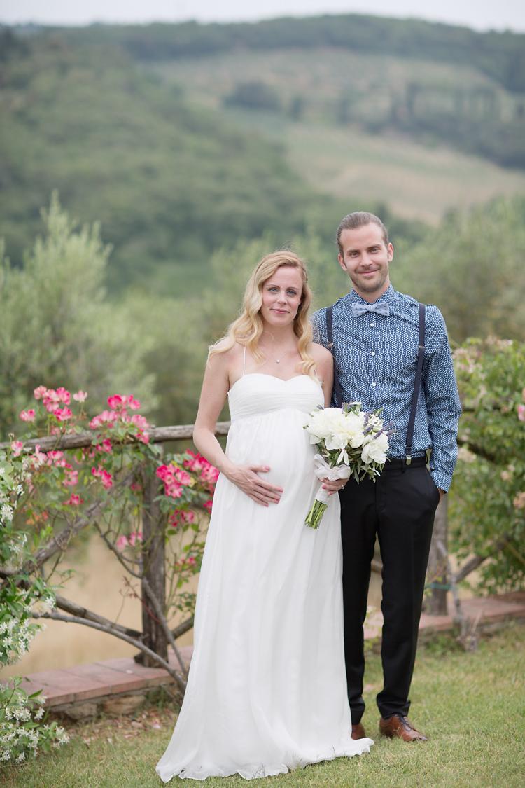bröllop Tema Toscana