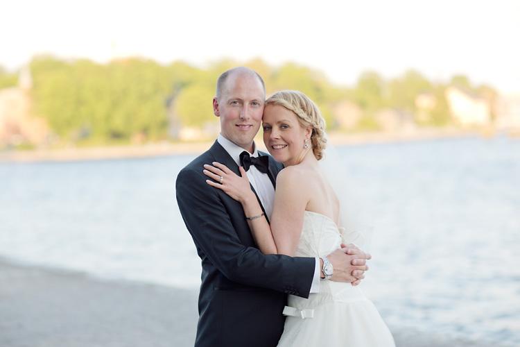 Brudpar i Stockholm