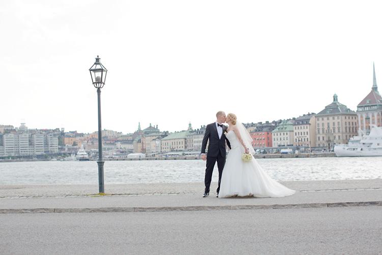 Bröllop Skeppsholmen i Stockholm fotograf Jessica Lund