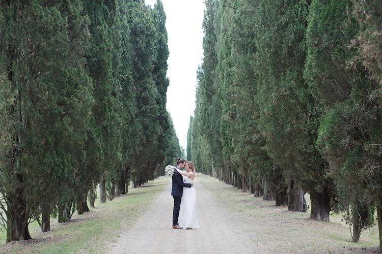 Bröllopsfotograf Toscana Jessica Lund