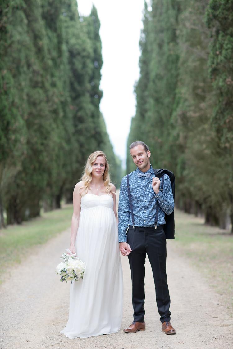 att gifta sig i Toscana