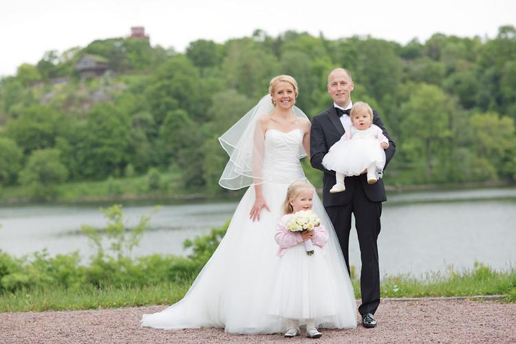 Familj bröllop