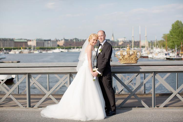 Bröllop vy Strandvägen