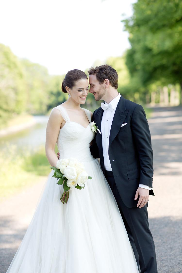 Brudpar fotograferat i Stockholm av fotograf Jessica Lund