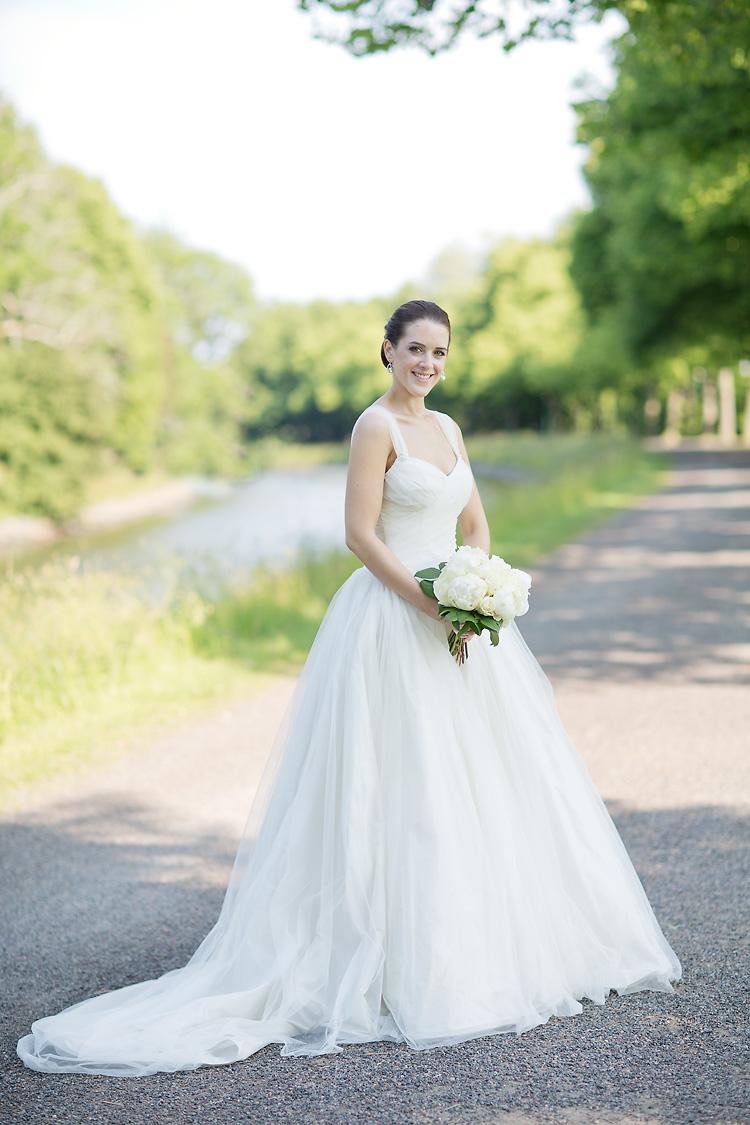 Vera Wang brudklänning