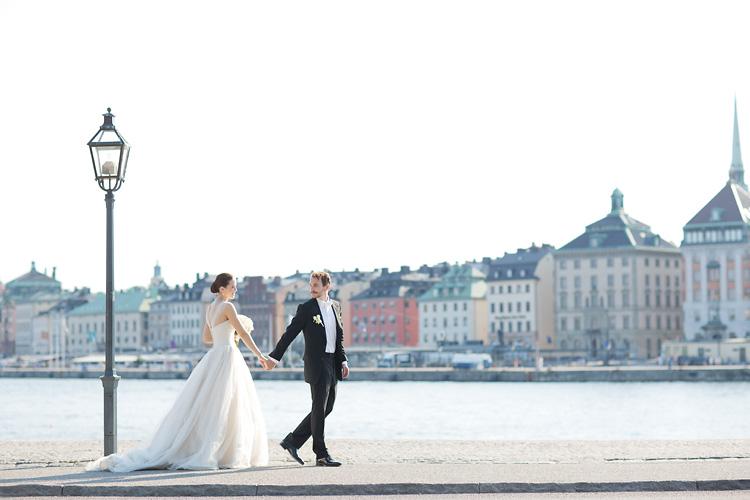 Stockholm bröllop Skeppsholmen