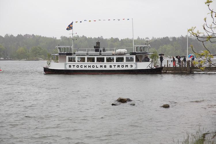 Ångbåt i Stockholm