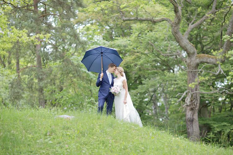 Regn på Bröllop i Stockholm