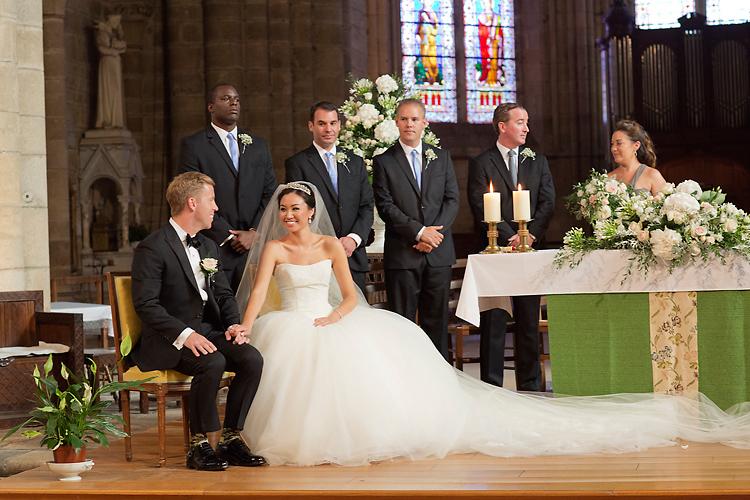 bröllop i Frankrike