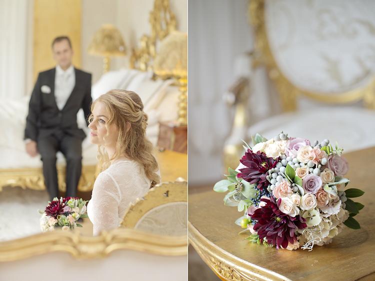 lyxigt bröllop Görvälns slott