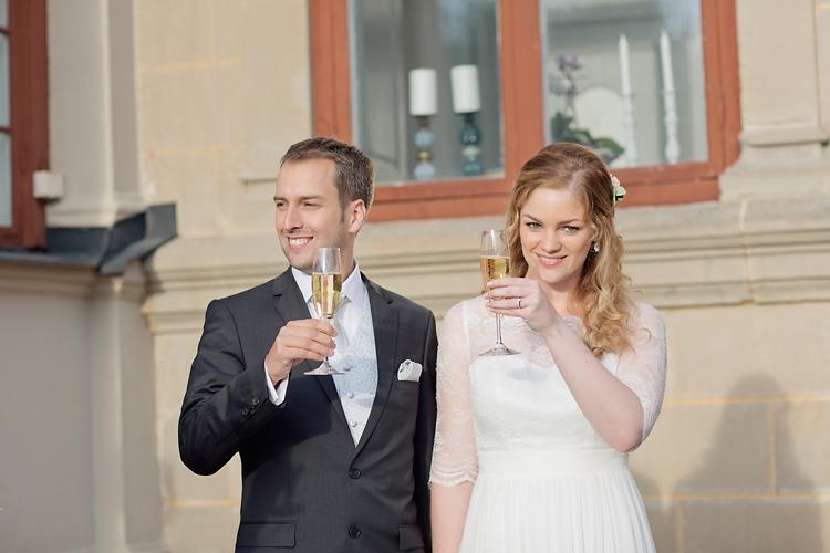 Brudskål sommarbröllop