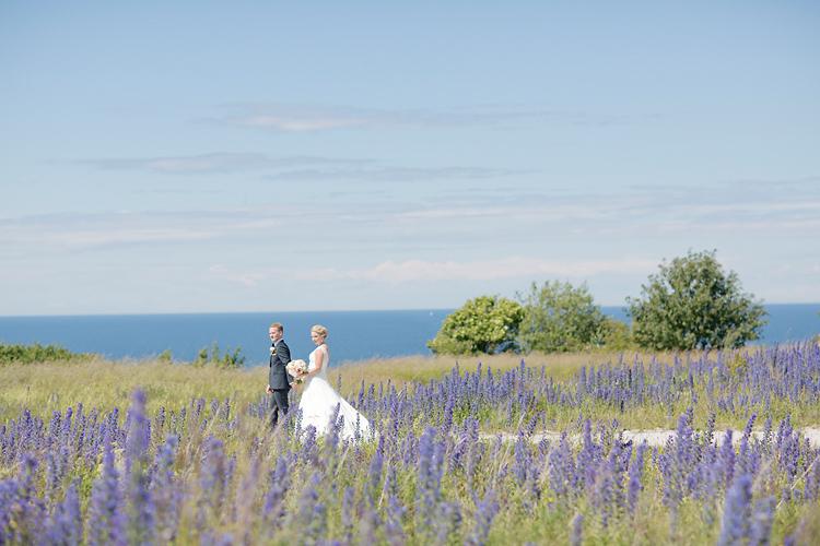 Bröllop Gotland blåeld