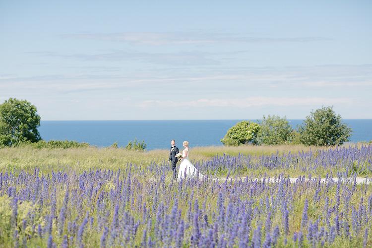 Bröllop i Visby av bröllopsfotograf
