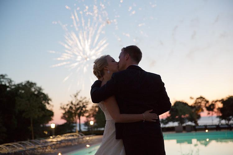 fyrverkerier Bröllop
