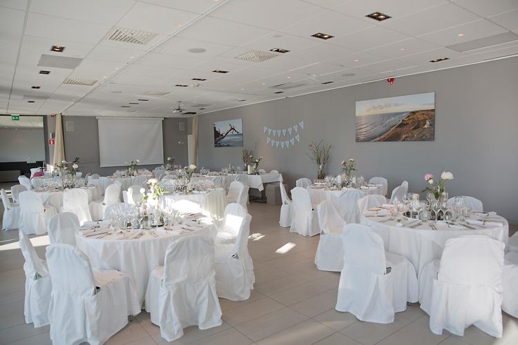 Bröllopsdukning Tott Hotell i Visby