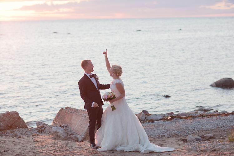 Dans vid stranden Visby