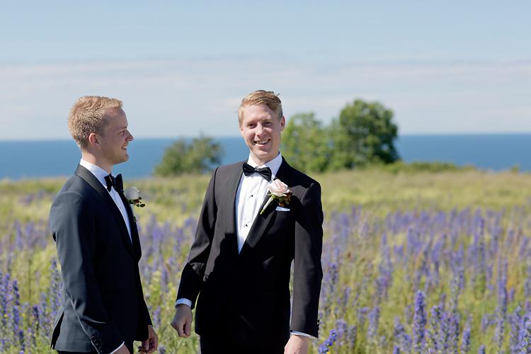 Brudgum och bestman på Gotland