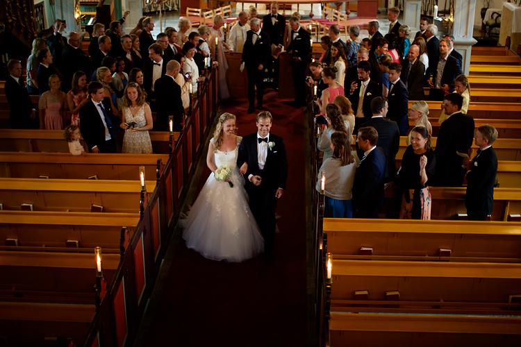 Norskt bryllup i Sverige