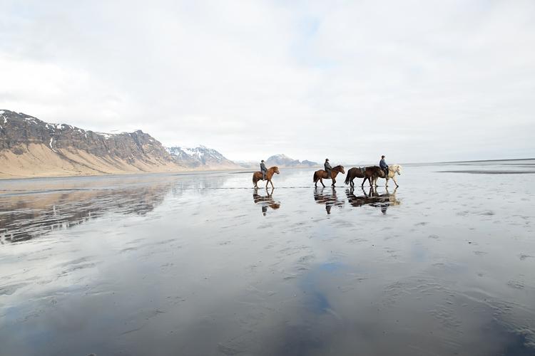 ridresa till Island