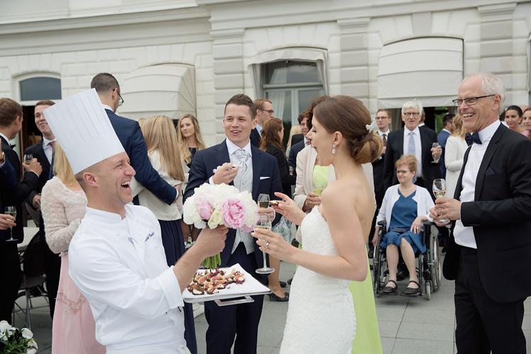 Slottsbröllop Stockholm