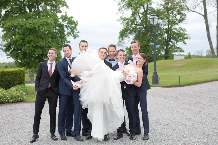gruppbild bröllop