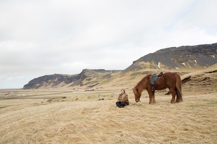 Fotograf Island fotograferar hästar och bröllop